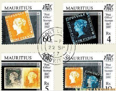 Mauritius - Interesting facts about stamps