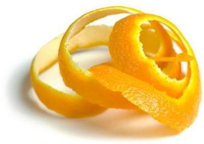 Illegal to peel an orange