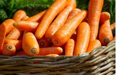 Carrot can turn your body orange