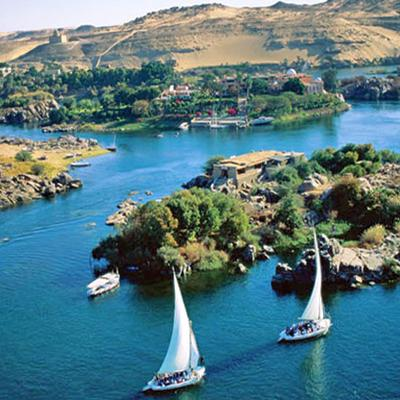 River Nile in Africa