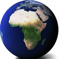 Africa from space, Interesting facts