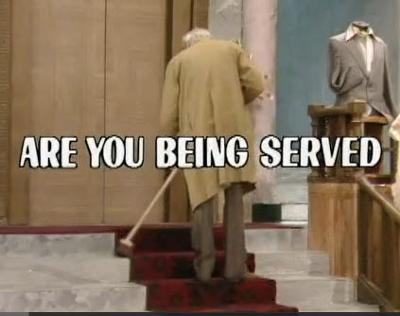 Are You Being Served Comedie