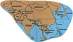Population of Asia