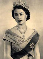 The Queen of England does not have a passport