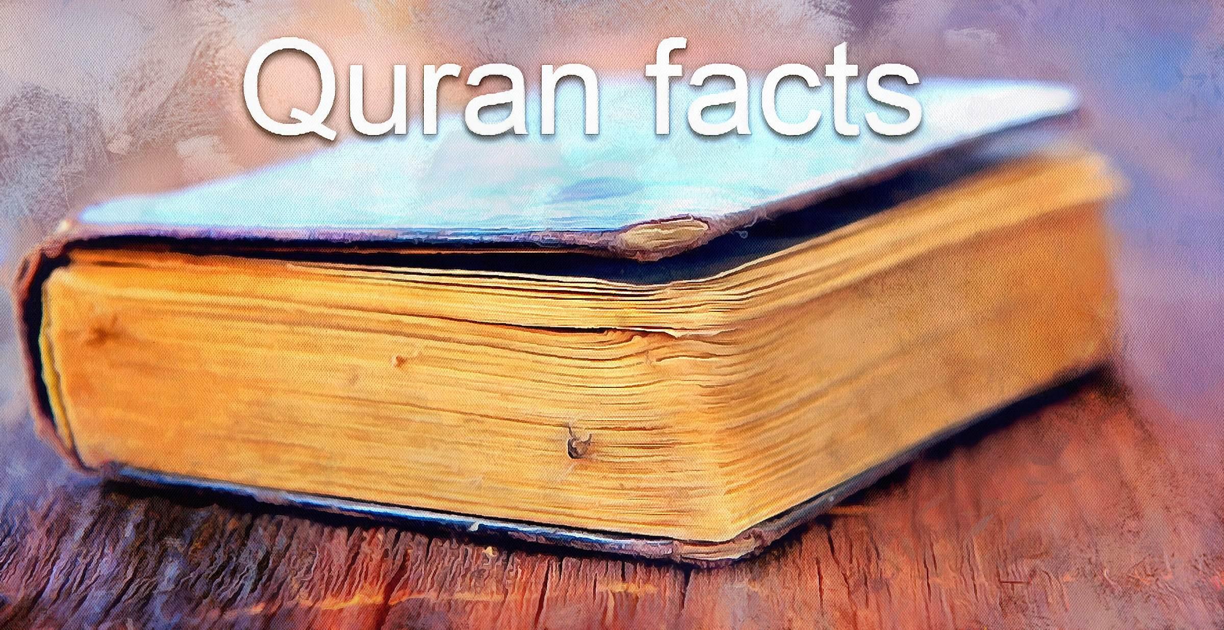 Interesting Quran Facts