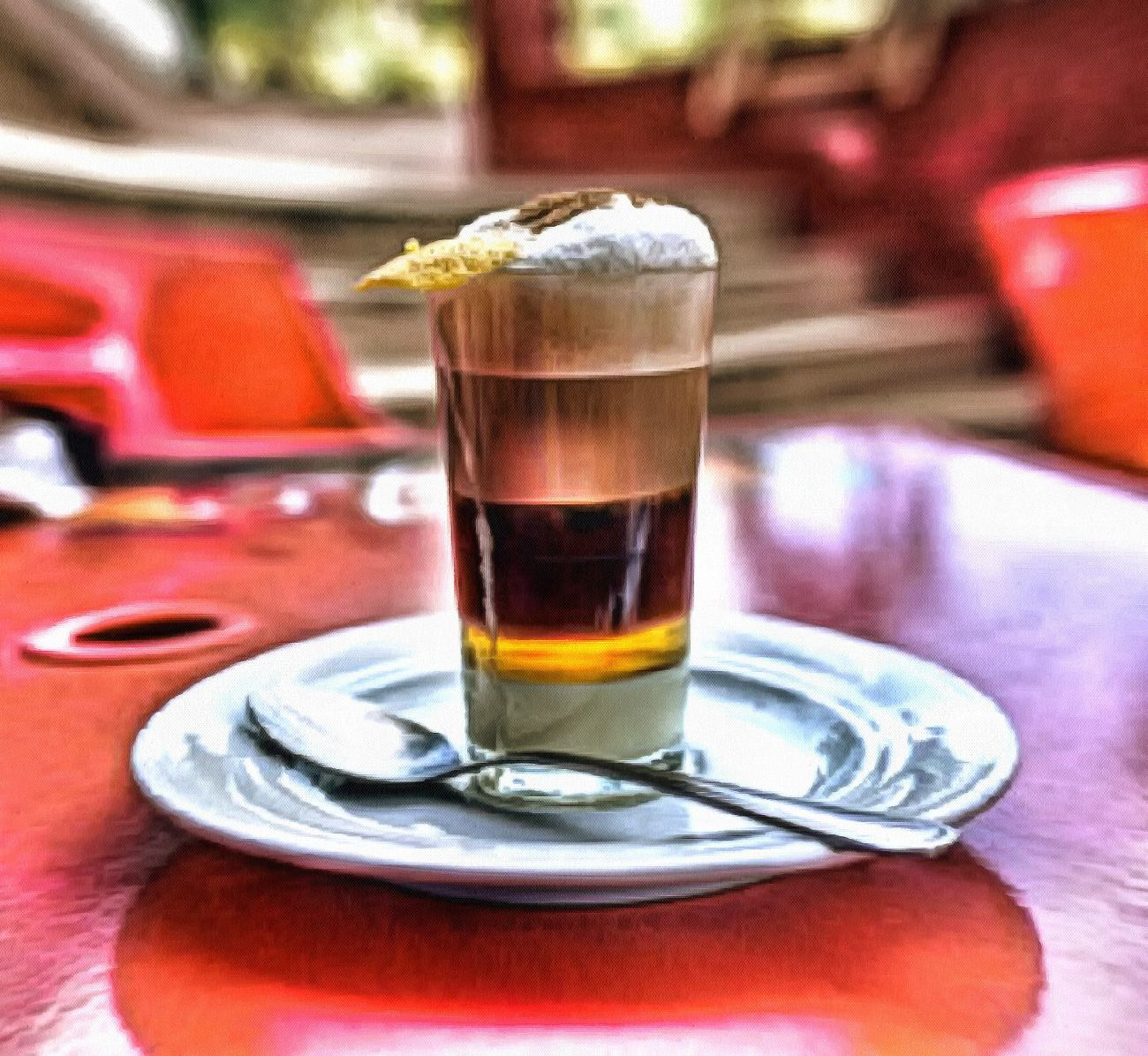 A cup of coffee in Tenerife (Spain)